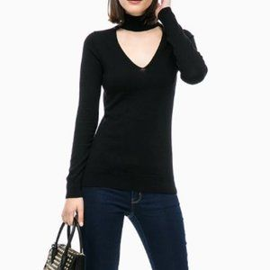 Michael Kors Wmn's Cotton Cutout Pullover - Sz XS
